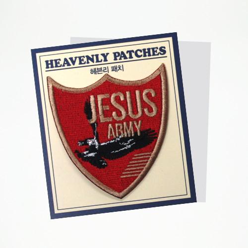 패치_Jesus Army(방패형)