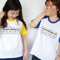 갓피플 나그랑반팔 티셔츠- HEAVEN