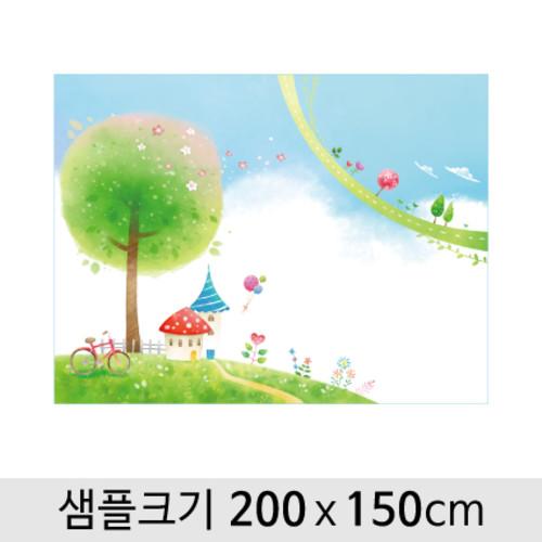 봄배경현수막-064  ( 200 x 150 )