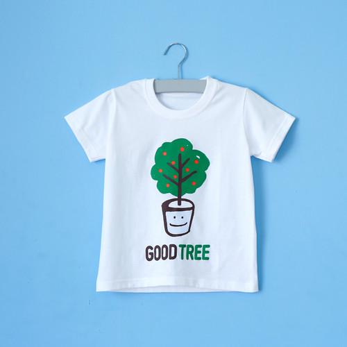 글로리월드 티셔츠 - 굿트리(화이트) (30벌 이상 주문가능)