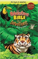 NIrV: Adventure Bible Book of Devotions for Early Readers: 365 Days of Adventure