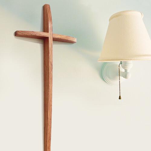 샬롬 벽걸이 십자가 (대)
