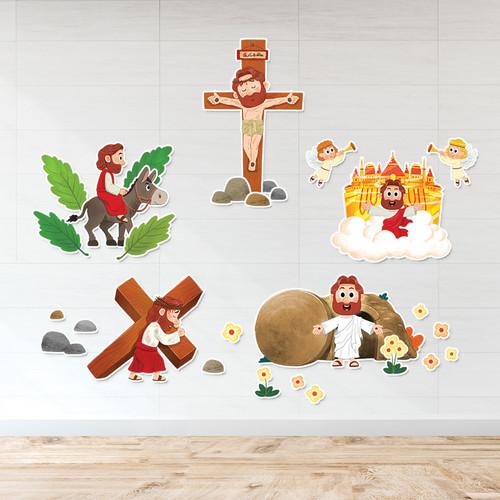 피콕 캐릭터 부직포-천사의 노래