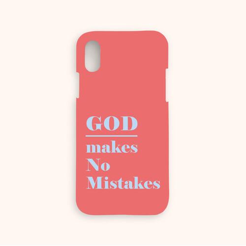 울보제자 God makes no mistakes 찬양케이스 (레드)