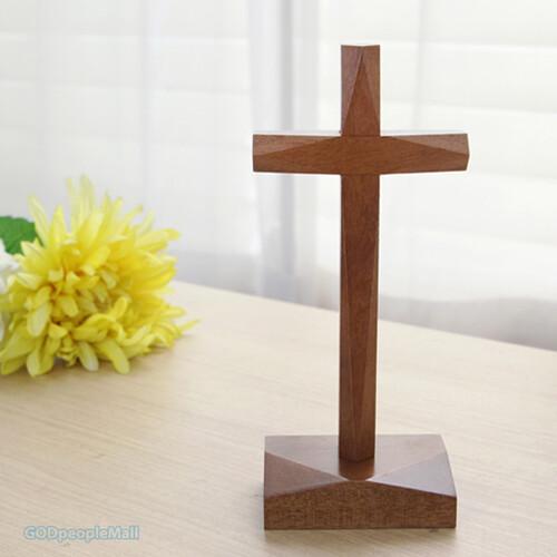 원목 탁상 십자가 (2)