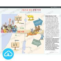 성경 인포그래픽 45 그림으로 보는 분열시대 by 규장굿즈 / 이메일발송(파일)