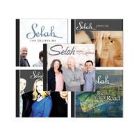 Selah 셀라 - 최고의 보컬트리오 해외찬양 음반세트(5CD)