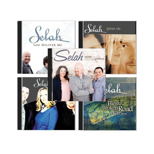 Selah 최고의 보컬트리오 찬양 음반세트(4CD)