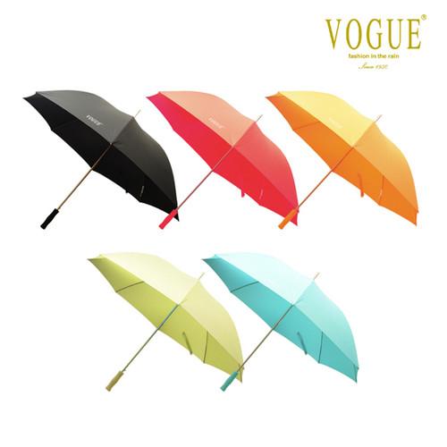 보그 75 올화이버 자동 컬러 파스텔 우산
