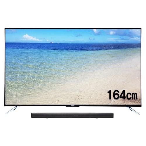 주연전자 65인치 UHD TV JYE-K650U + JE-SB 사운드바