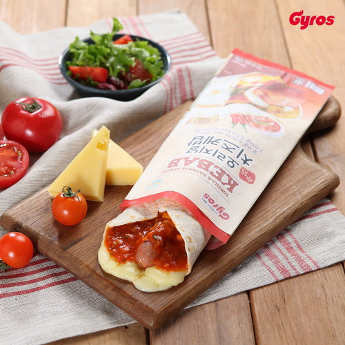 기로스 오리지널 치즈케밥 x 4개 (살사소스맛/토마토갈릭소스맛)
