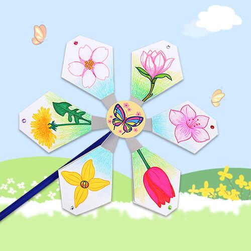 [만들기패키지] 봄에 피는 꽃 바람개비