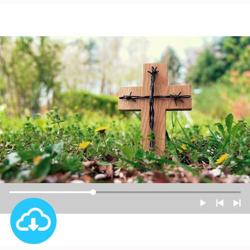 십자가 배경영상 1 by 굿픽 / 이메일발송(파일)