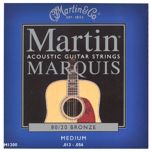 마틴 어쿠스틱 기타줄 MARQUIS MEDIUM (M1200) - 80/20 Bronze