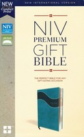 NIV: Premium Gift Bible, Red Letter Edition (Leathersoft, Teal)