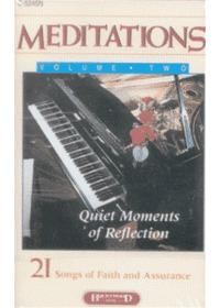 Meditations 2 묵상 (Tape)