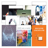 Jesus Culture Live Worship 세트(11CD+4DVD)