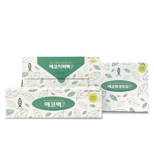 에코비닐백,위생장갑,지퍼백(750001~3)
