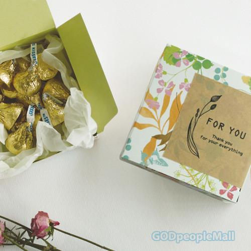 Gift box_Pink 5매_S/M/L