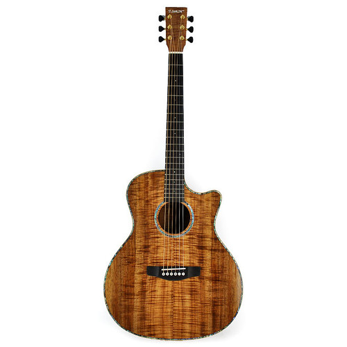 쟈마 WS-A100BC (All Blackwood) 어쿠스틱 기타