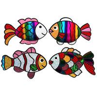 [만들기패키지] 무지개물고기 포일아트 4종 SET