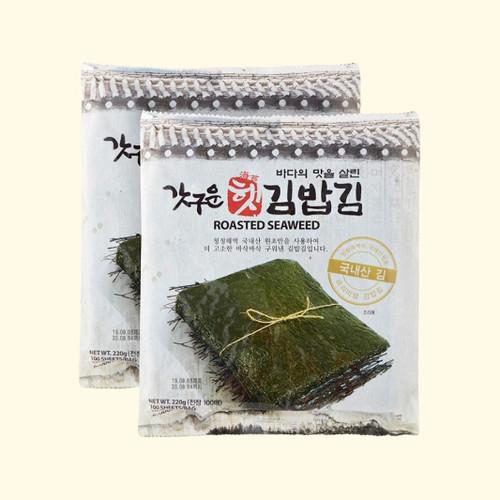갓구운 햇 김밥김 전장10매(22g)