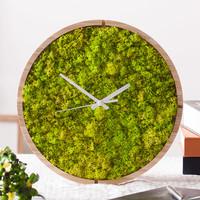 원목 스칸디아모스 벽시계(30cm) - 8색상