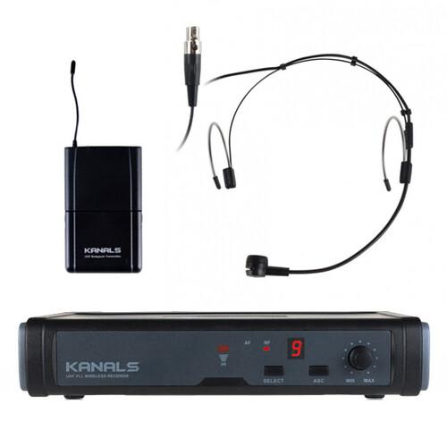 카날스 BK-7001N / ET-801H 무선 헤드셋 마이크