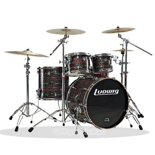 루딕 Keystone 5기통 드럼 (심벌제외) - Made in USA
