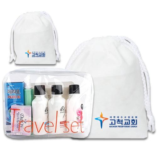 (부직포가방,무료인쇄) LG 여행용 7종