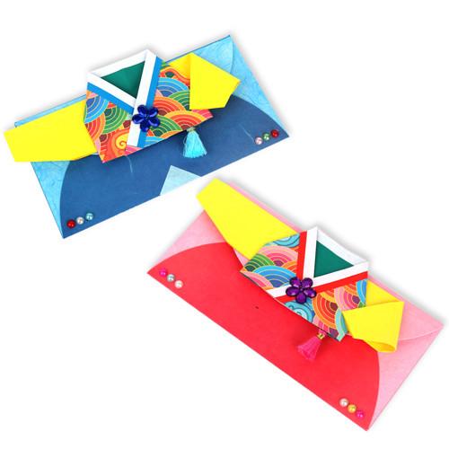 색동한복 용돈지갑(5개이상구매가능)
