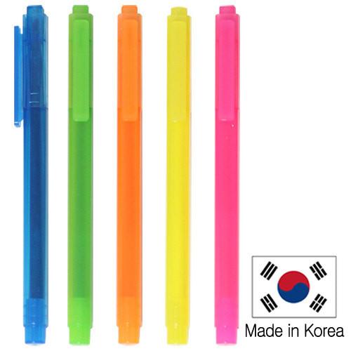 단체인쇄용 - 스타사각형광펜 (JH-400) / 형광펜