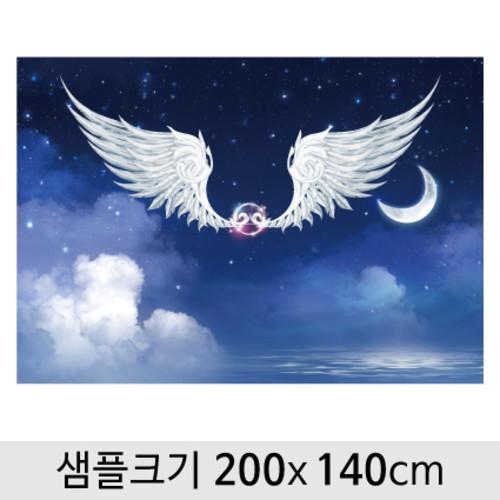 천사날개포토존현수막-032  ( 200 x 140 )
