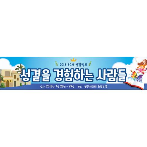 여름성경학교224w(성결교) (500cm x 90cm)