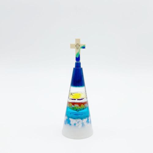 eznu 유리공예 장식품 / 블루