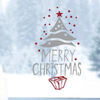 (크리스마스 스티커)snow tree