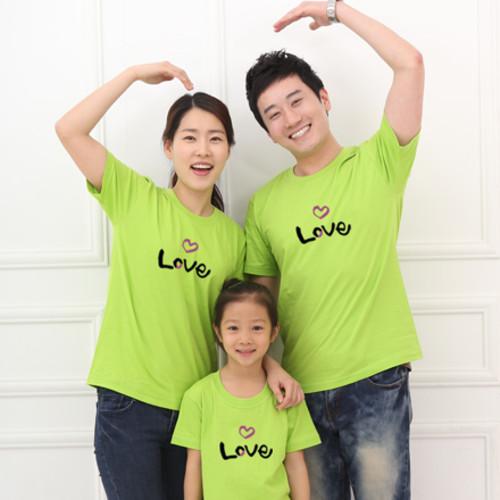 마이제이디_캘리아트 티셔츠 반팔 사랑 Love 티셔츠(국산순면-8색)