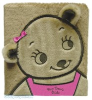 Tiny Bears Bible (Board Book, Faux Fur, Pink)