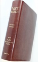 Net Bible Full Notes Second Ed, Bonded Leather, Brown