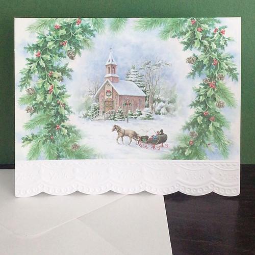 Carol 크리스마스카드 2453