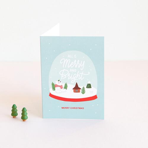 그레이스벨 크리스마스 카드 06.스노우볼