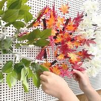나뭇잎, 단풍, 벚꽃 모양 마그넷 나뭇가지 장식