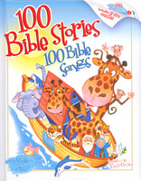 100 Bible Stories 100 Bible Songs (1Book+2CD)