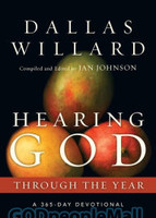 Hearing God Through the Year: A 365-Day Devotional (PB) (Series: Through the Year Devotionals)