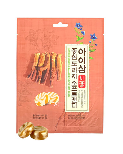아이삼 홍삼도라지 소프트캔디 100g (20개 내외)