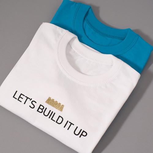 갓피플 반팔 티셔츠 - LET'S BUILD IT UP 우리 함께 세워요