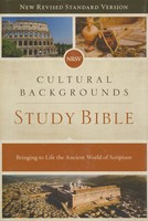 NRSV: Cultural Backgrounds Study Bible, Hardcover, Comfort Print: Bringing to Life the Ancient World of Scripture