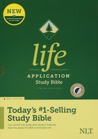 NLT: Life Application Study Bible (Indexed, 양장본)