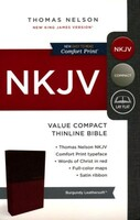 NKJV: Compact Bible, Value Edition (Brown, Imitation Leather)
