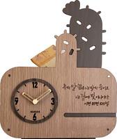 [선인장 말씀시계] 저금통시계(JKE05L)-하기오스